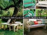 diy garden benches you can create it yourself 2014 interior designs
