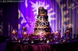 ... cake design, multi-tiered cake, unique wedding cake designs, purple