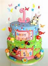 Thumper Butterfly Garden Cake | Kids cakes ideas | Pinterest