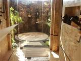 Rustic indoor outdoor shower | Outdoor shower | Pinterest