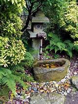 water fountain is one of outdoor fountains for japanese garden design