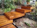 Timber Garden Steps | Ideas for Hawk Property Services | Pinterest
