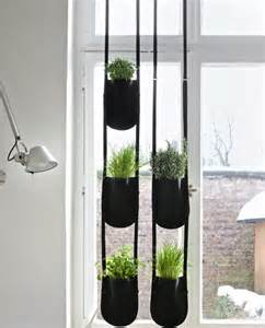 vertical pocket herb garden by urban garden casual