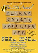 the 25th annual putnam country spelling bee la mirada ca