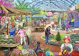 At the Garden Centre HOP Jigsaw Puzzle 1000 Piece by Ray Cresswell