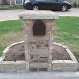 Planters Bowls, Brick Mailbox, Flower Planters, Stones Mailbox, Custom ...