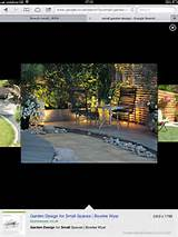 Up lighting | Small garden ideas | Pinterest