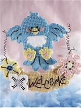 this happy little bluebird welcomes your springtime guests this e