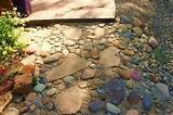 river rock walkway | Garden | Pinterest | Landscaping Ideas | Pintere ...