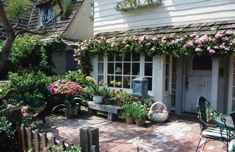 ... front patio a cottage charm. Get more cottage garden design ideas