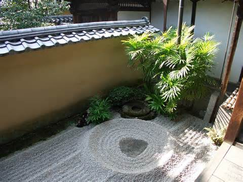 Plants and planting in the Tsubo-en Zen garden