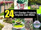 24 DIY Garden Projects Anyone Can Make | Small Garden Ideas