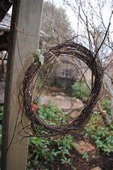 winter wreath garden ideas pinterest