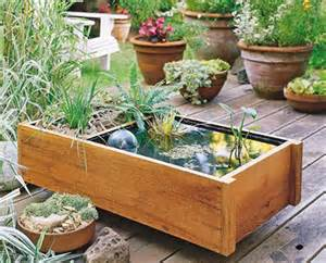 Diy Garden And Deck Top Pond In One | Shelterness