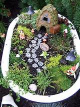 ... garden! There are many different ways to make a fairy garden. Here are