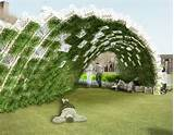 Green-Walled Living Pavilion Garden Sprouts on Governors Island ...