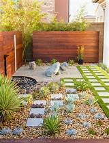 modern zen garden small space design contemporary landscape