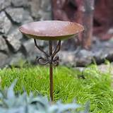 Miniature Fairy Garden Birdbath Pick Birdbaths, Fountains and Ponds ...