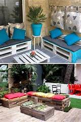 10 Latest and Unique Outdoor Pallets Patio Furniture | Pallets Designs