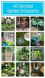 , Garden Decorating Ideas, Upcycled Garden Art, Diy Garden Ideas, Diy ...