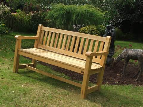 ... garden bench from a piece of cherry wood that we had this garden bench