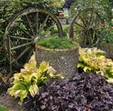 Rustic Garden Feature | Gardening Ideas | Pinterest