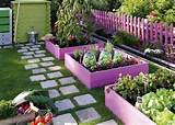 ... Pallet Planter Ideas – Pallet Garden DIY Pallet Garden Raised flower