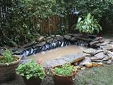 Outdoor Pond Installation