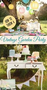 vintage garden party theme it is so elegant and glamorous and girly