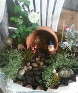 ... Gnome mini garden. | Miniature Fairy, Gnome, etc. Garden ideas