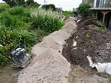 ... garden paths - How to build a garden paths walkways - Curved Walkway