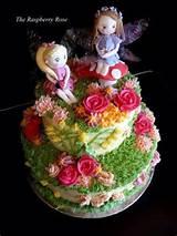 fairy garden cake garden cakes pinterest