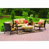Better Homes and Gardens Englewood Heights 4-Piece Patio Set - Walmart ...