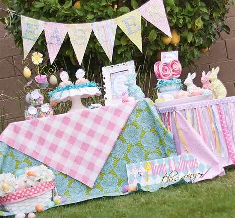easter party and decoration ideas