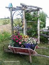 ... garden with arbors, trellis, obelisks, and more. Rustic arbor with