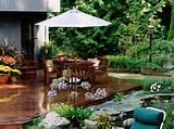 Garten mit Terrasse – Kleine Sitzecke im Grünen gestalten