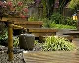 zen garden design ideas, japanese gardens with a water fountain ...