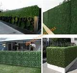 39 034 tall artificial ivy leaf privacy fence screen d cor panels