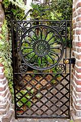 garden gate in charleston sc the garden patio pinterest
