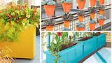 Customized Wall Planter Boxes