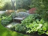 Sitzecke im Garten gestalten-so genießen Sie Ihre persönliche ...