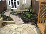 landscaped gardens new build in corsham low maintenance garden deas
