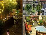 30 Inspiring Small Balcony Garden Ideas ~ ScaniaZ