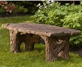 stone backless garden bench contemporary outdoor stools and benches