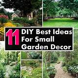 11 DIY Ideas For Small Garden Decor | DIY Home Things