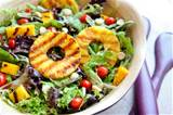 Grilled Tropical Summer Salad (click here to view and print recipe)