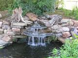garden waterfall design 5 e1281724141389 Waterfall enhances the beauty ...