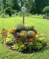 d coration de jardin et terrasse avec petits graviers et grands pots