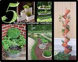 snibbles and bits 5 interesting herb and container gardens