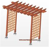 is about garden arbor plans building a simple garden arbor can be done ...